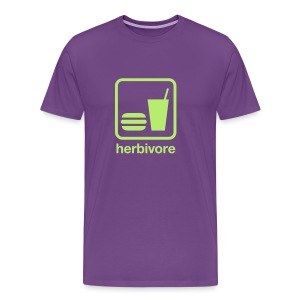 Food & Drink: Herbivore - Men's Premium T-Shirt