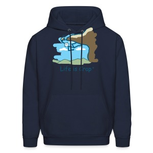 Rock Climb - Mens Hooded Sweatshirt - Men's Hoodie