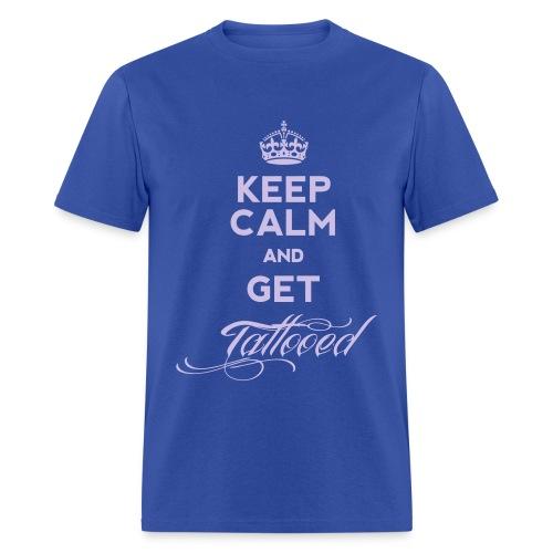 Get tattooed - Men's T-Shirt
