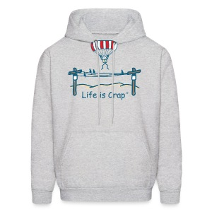 Parachute Power Line - Mens Hooded Sweatshirt - Men's Hoodie