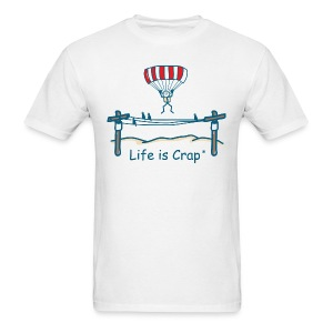 Parachute Power Line - Mens Classic T-shirt - Men's T-Shirt