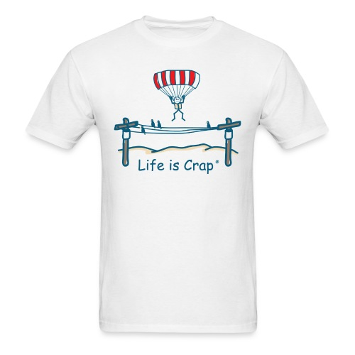 Parachute Power Line - Mens Classic T-shirt - Men's T-Shirt