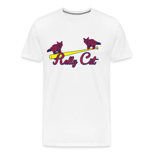 Rally Cat T-Shirt - Men's Premium T-Shirt