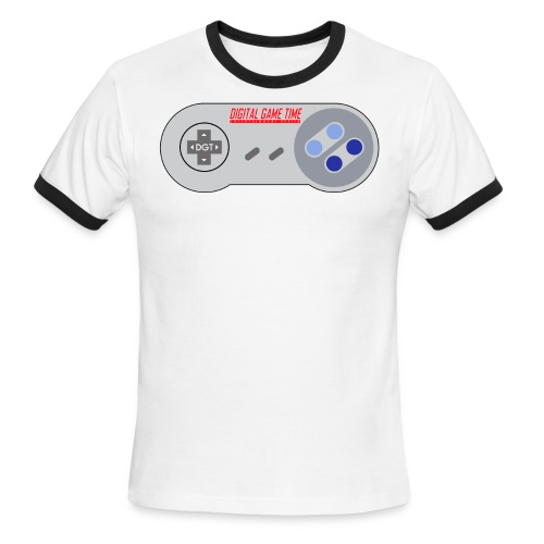 DGT Retro - Men's Ringer T-Shirt