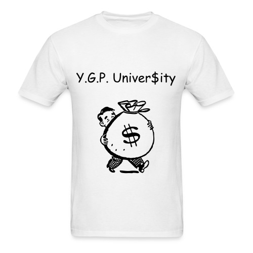 Y.G.P. Bag Of Money  - Men's T-Shirt