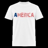 T-Shirts ~ Men's T-Shirt ~ America T Shirt