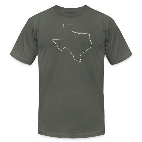 Texas - Men's American Apparel - Men's Fine Jersey T-Shirt