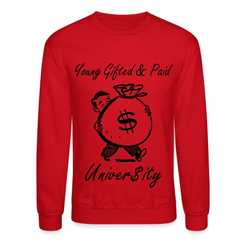 Y.G.P. Bag Of Money Sweater  - Crewneck Sweatshirt