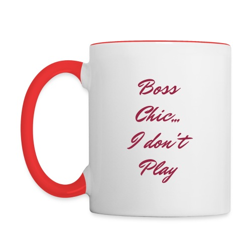 Boss Chic - Contrast Coffee Mug