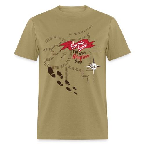 Solemnly Swear Making Adoption Better - Men's T-Shirt
