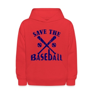 save the baseball - Kids' Hoodie