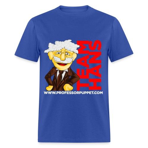 Men's T-Shirt - puppet,Youtube,Hans Von Puppet,Cool,Comic-Con