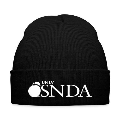 SNDA Beanie - Knit Cap with Cuff Print