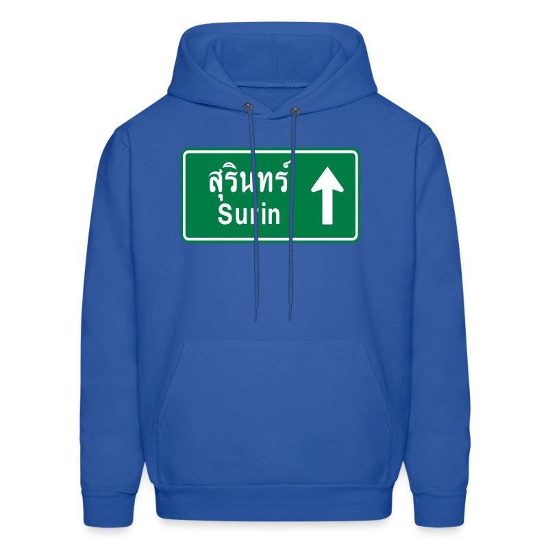Surin Thailand  city images : Surin, Thailand / Highway Road Traffic Sign Hoodies Men's Hoodie