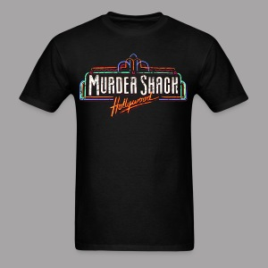 Murder Shack Hollywood Men's Horror Shirt - Men's T-Shirt