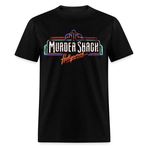 Murder Shack Hollywood Men's Horror Shirt - Men's T-Shirt