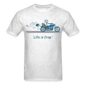 Motorcycle Bag - Men's T-Shirt