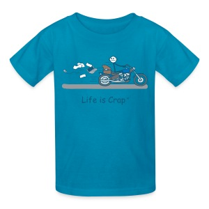 Motorcycle Bag - Kids' T-Shirt