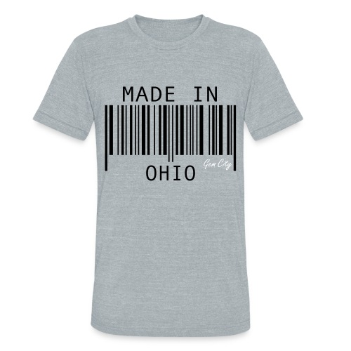Made In Ohio - Unisex Tri-Blend T-Shirt
