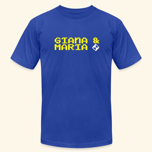 Giana & Maria (free shirtcolor selection) - Men's Fine Jersey T-Shirt