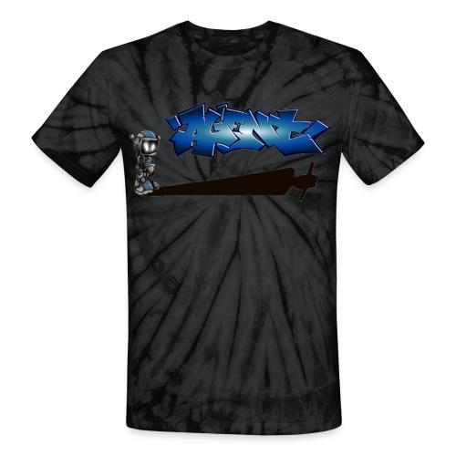 AGENT TAG SHADOW T-SHIRT TYE DIE - Unisex Tie Dye T-Shirt