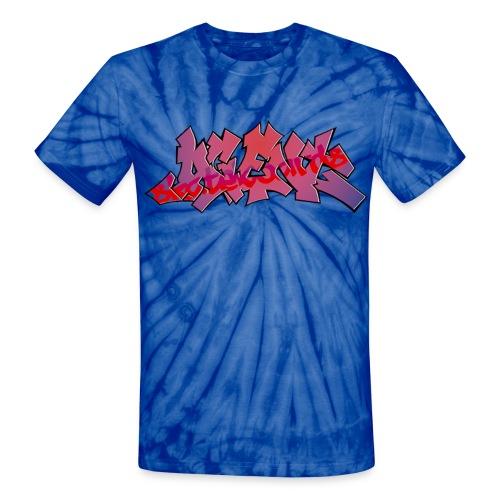 AGENT RED TAG T-SHIRT TYE DIE - Unisex Tie Dye T-Shirt