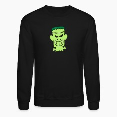 Naughty Halloween Frankenstein Long Sleeve Shirts
