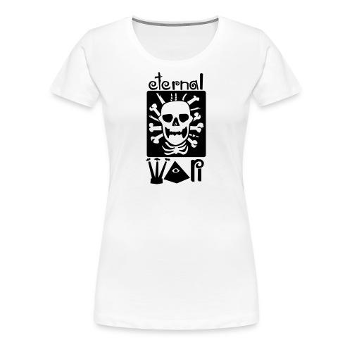 eternal war - Women's Premium T-Shirt