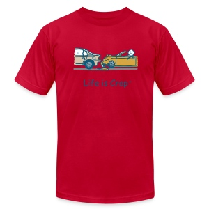 Fender Bender - Men's T-Shirt by American Apparel