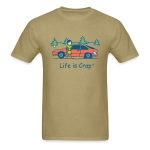 Flat Tire - Men's T-Shirt