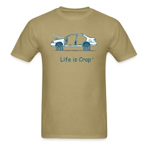 Car on Blocks  - Men's T-Shirt