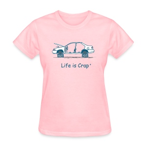 Car on Blocks - Women's T-Shirt