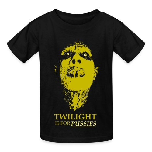TWILIGHT IS FOR PUSSIES - Kids' T-Shirt