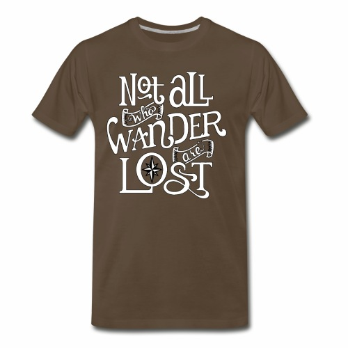 Wander Lost - Men's Premium T-Shirt