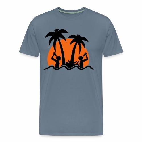 Island Drinks - Men's Premium T-Shirt