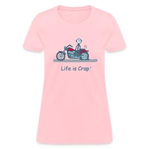 Motorcycle Flat - Women's T-Shirt