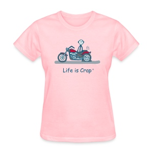 Motorcycle Flat - Women's T-Shirt