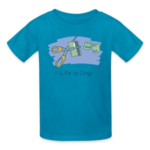 Cut Card - Kids T-shirt - Kids' T-Shirt