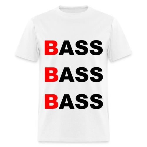 BASS X3 - White - Men's T-Shirt