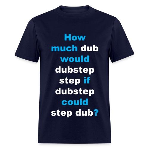 Dubstep Riddle - Navy - Men's T-Shirt