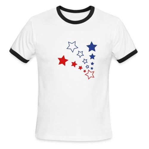 Stars - Men's Ringer T-Shirt