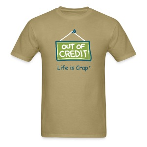 Out Of Credit - Mens Classic T-shirt - Men's T-Shirt