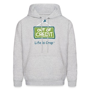 Out Of Credit - Mens Hooded Sweatshirt - Men's Hoodie