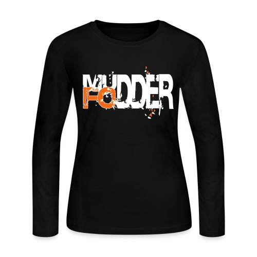 Woman Black Long Sleeve - Women's Long Sleeve Jersey T-Shirt