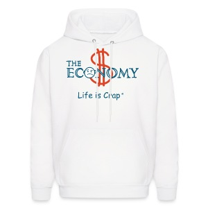 Economy - Mens Hooded Sweatshirt - Men's Hoodie