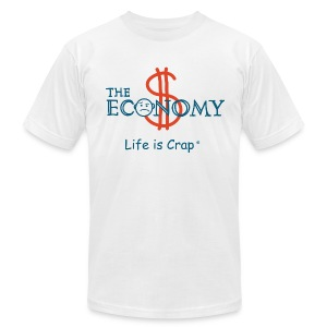 Economy - Mens T-shirt by American Apparel - Men's T-Shirt by American Apparel