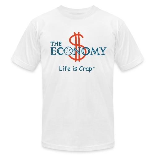 Economy - Mens T-shirt by American Apparel - Men's Fine Jersey T-Shirt