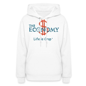 Economy - Womens Hooded Sweatshirt - Women's Hoodie