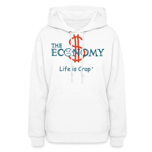 Economy - Womens Hooded Sweatshirt - Women's Hoodie