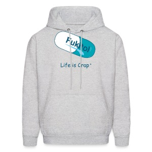 Fukitol - Mens Hooded Sweatshirt - Men's Hoodie